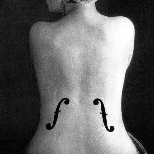 Tableau Le Violon d'Ingres - Man Ray